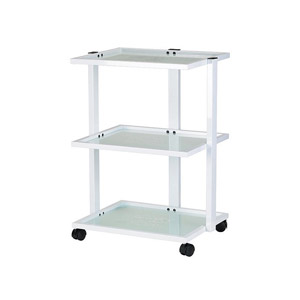 Abel Metal Facial Cart With Glass Shelves product image