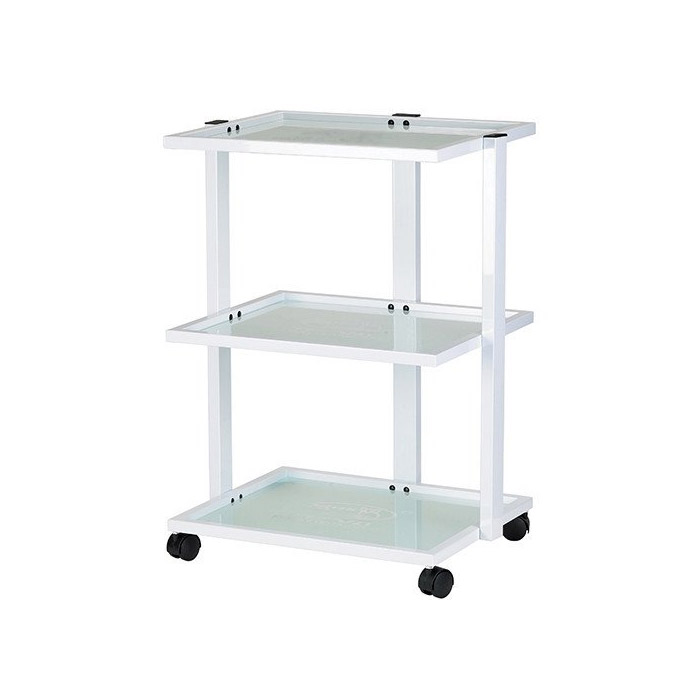 Abel Metal Facial Cart With Glass Shelves  main product image