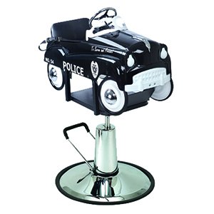 Pibbs 1807 Childrens Salon Chair Police Car product image