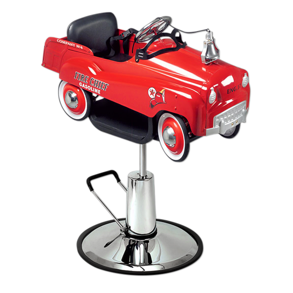 Pibbs 1804 Kids Barber Chair Fire Truck  main product image