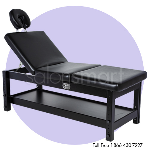 Adjustable Massage / Facial Bed with Black Cushions alternative product image 2