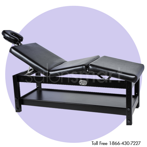 Adjustable Massage / Facial Bed with Black Cushions alternative product image 3