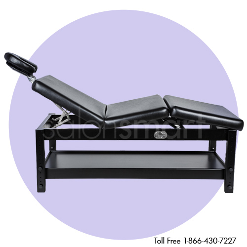 Adjustable Massage / Facial Bed with Black Cushions alternative product image 4