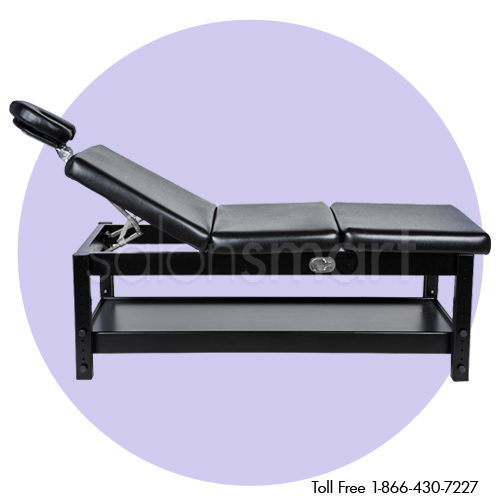 Adjustable Massage / Facial Bed with Black Cushions alternative product image 5
