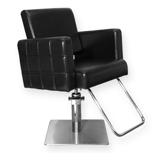 Havana Stylist Chair Quilted Black product image