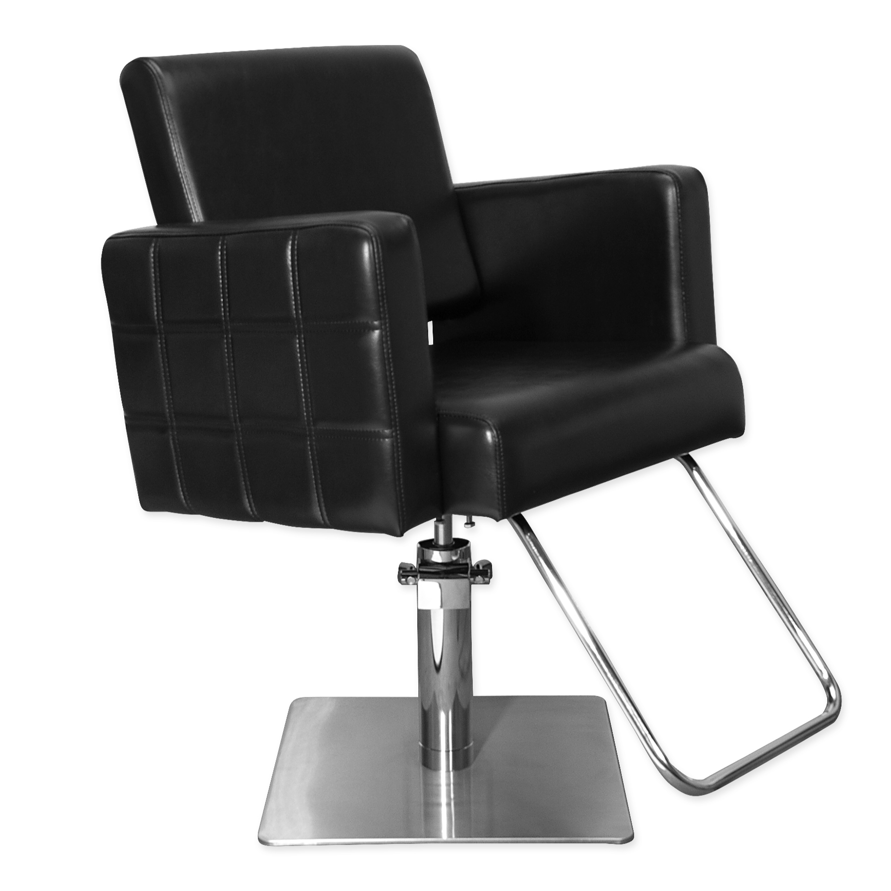 Quilted Havana Stylist Chair Black Salon Styling Chair Salonsmart