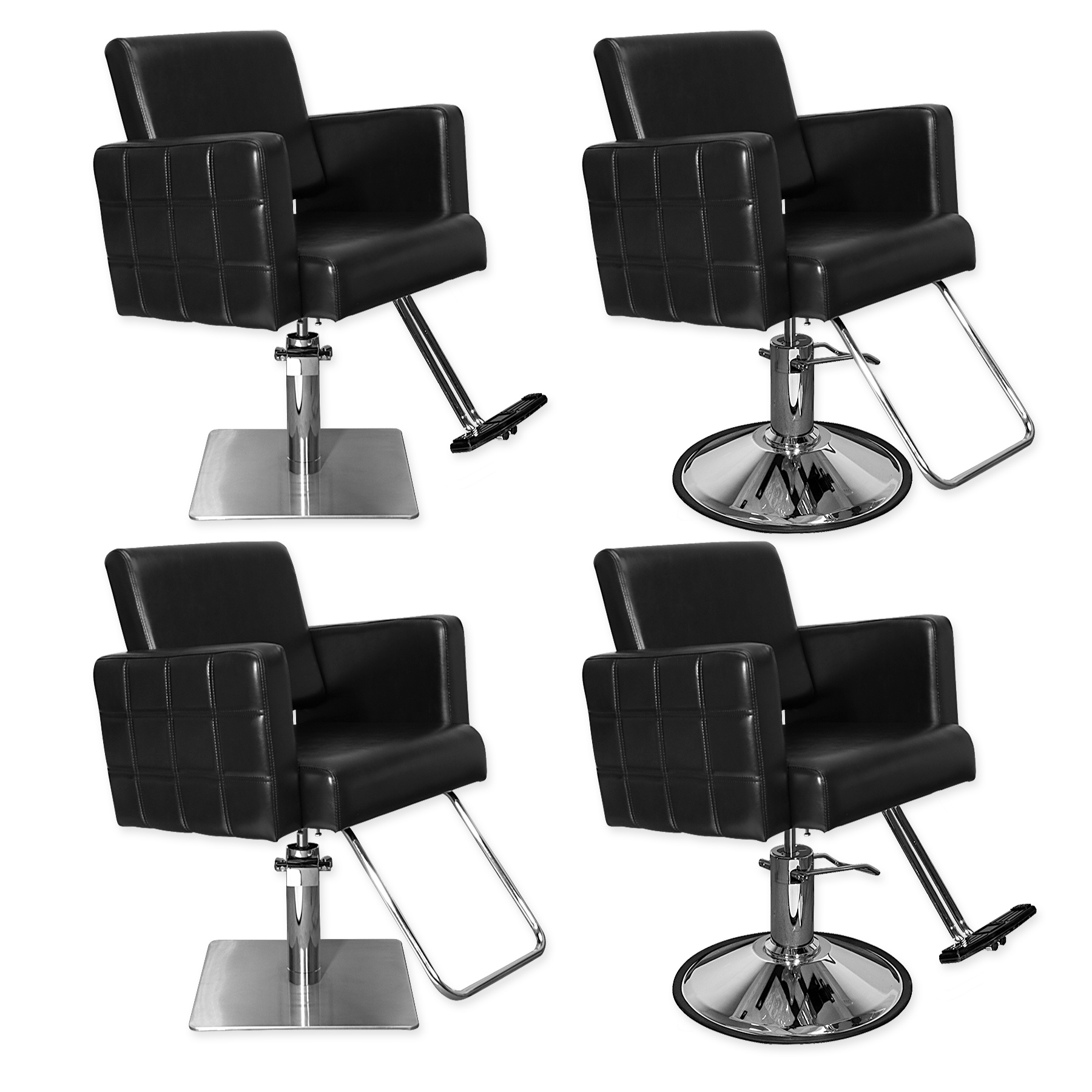 Havana Stylist Chair Quilted Black alternative product image 4