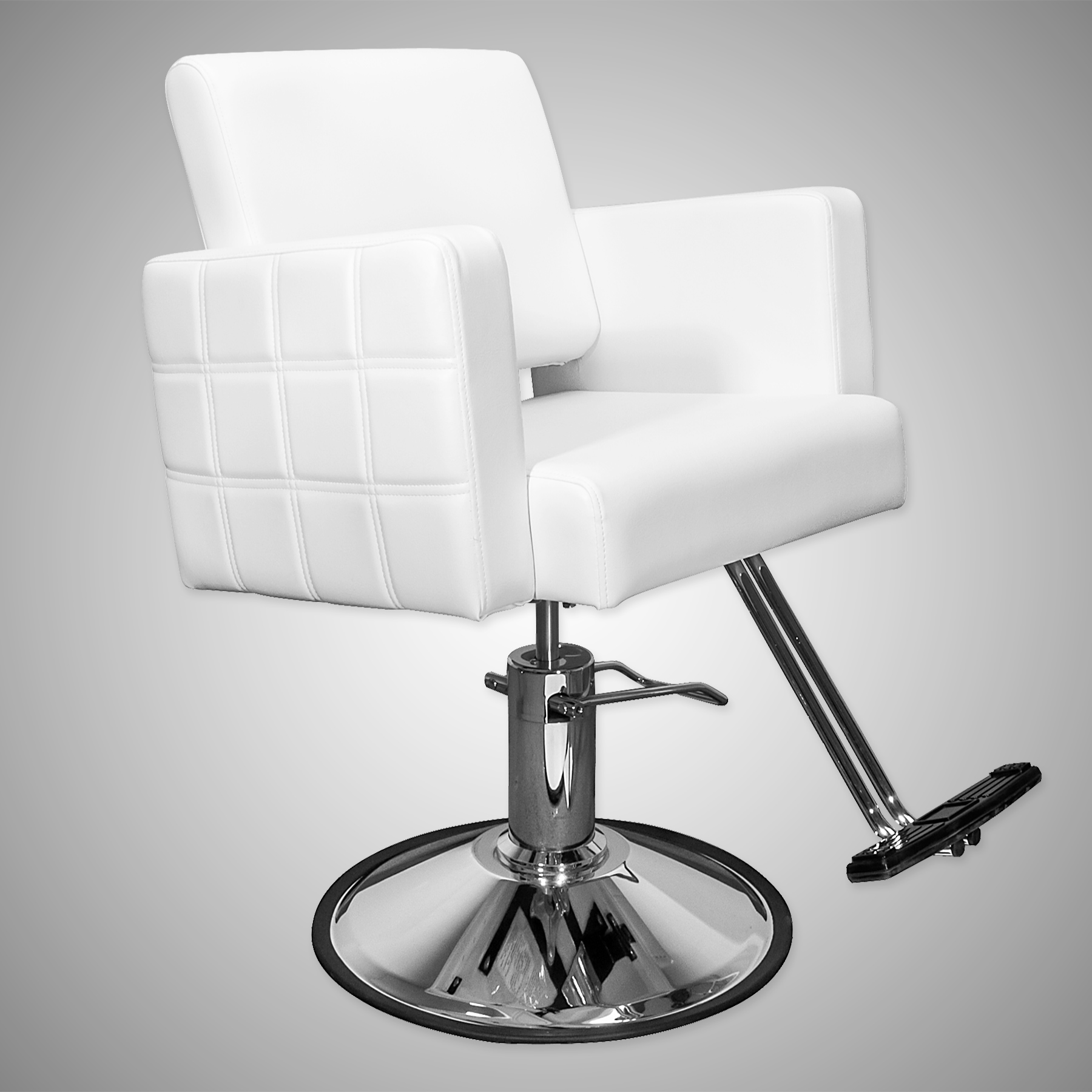 Havana Stylist Chair Quilted White alternative product image 5