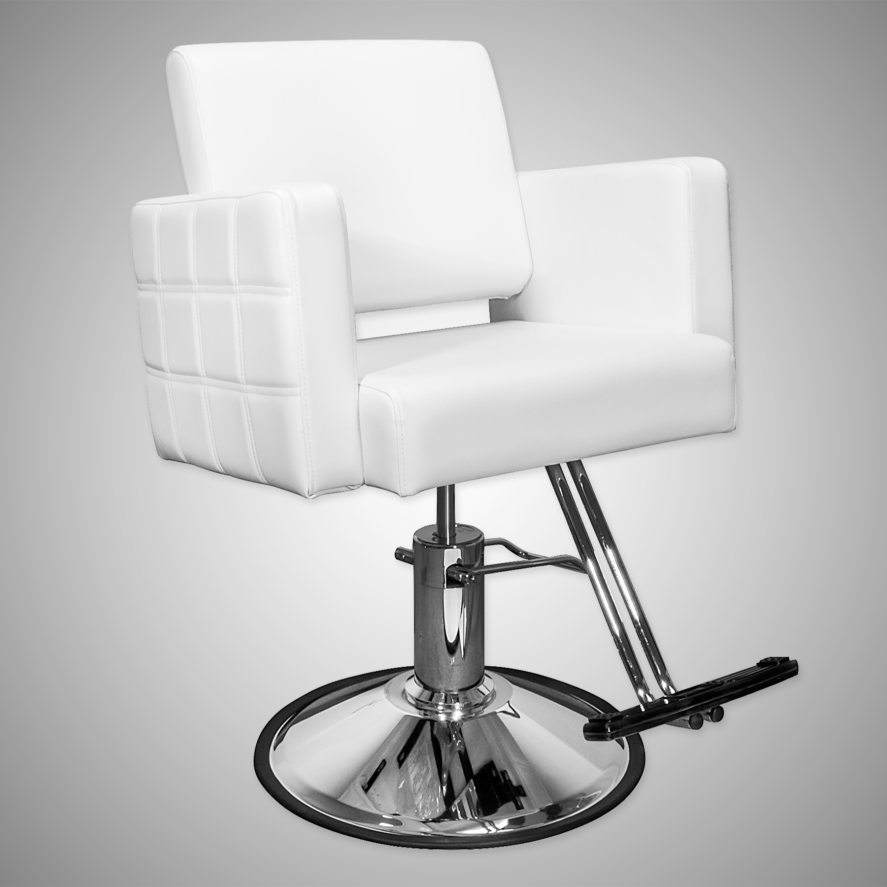Havana Stylist Chair Quilted White alternative product image 1