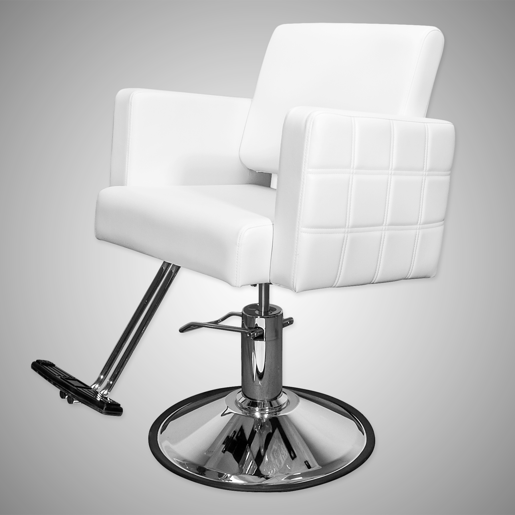Havana Stylist Chair Quilted White alternative product image 3
