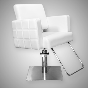 Havana Stylist Chair Quilted White product image