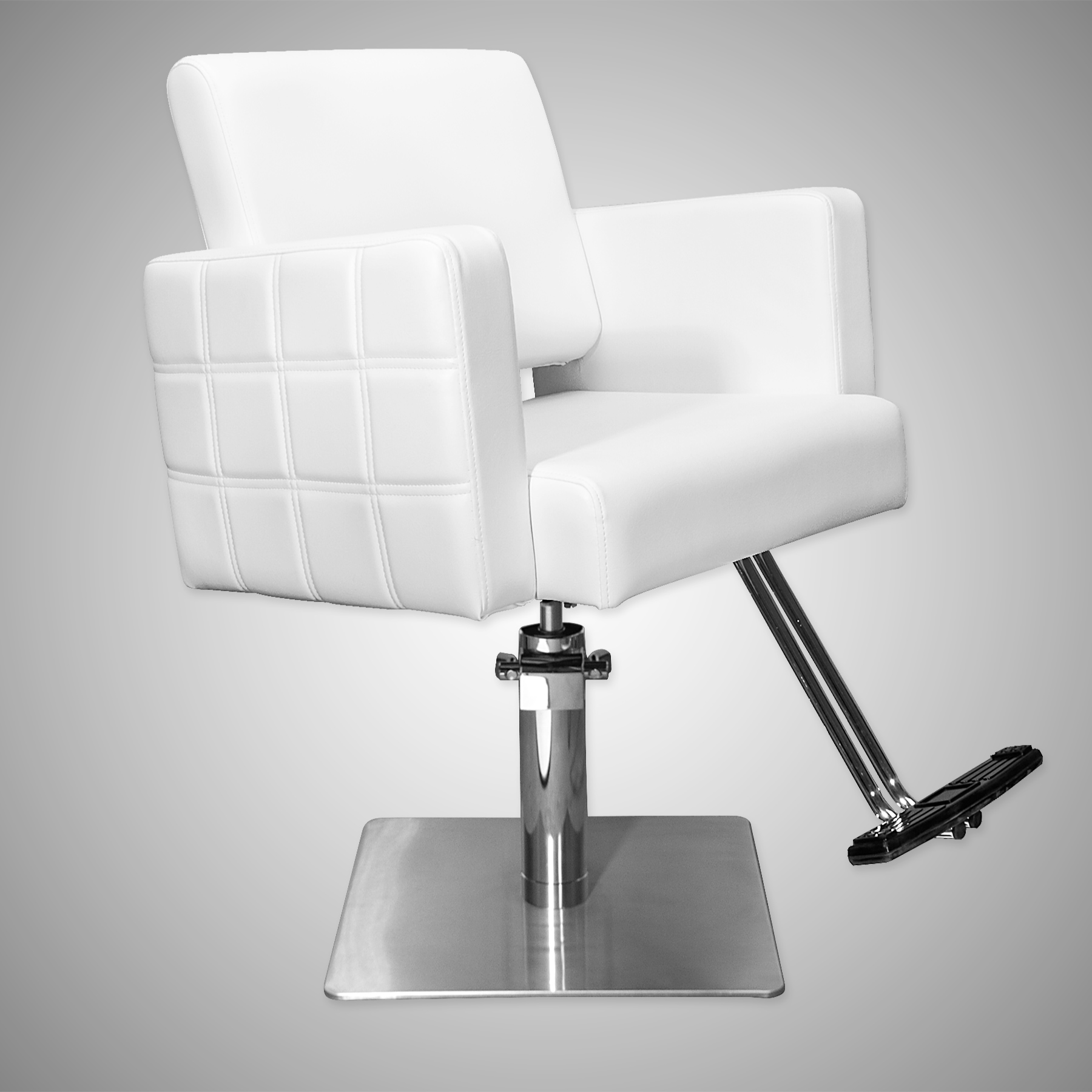 Havana Stylist Chair Quilted White alternative product image 6