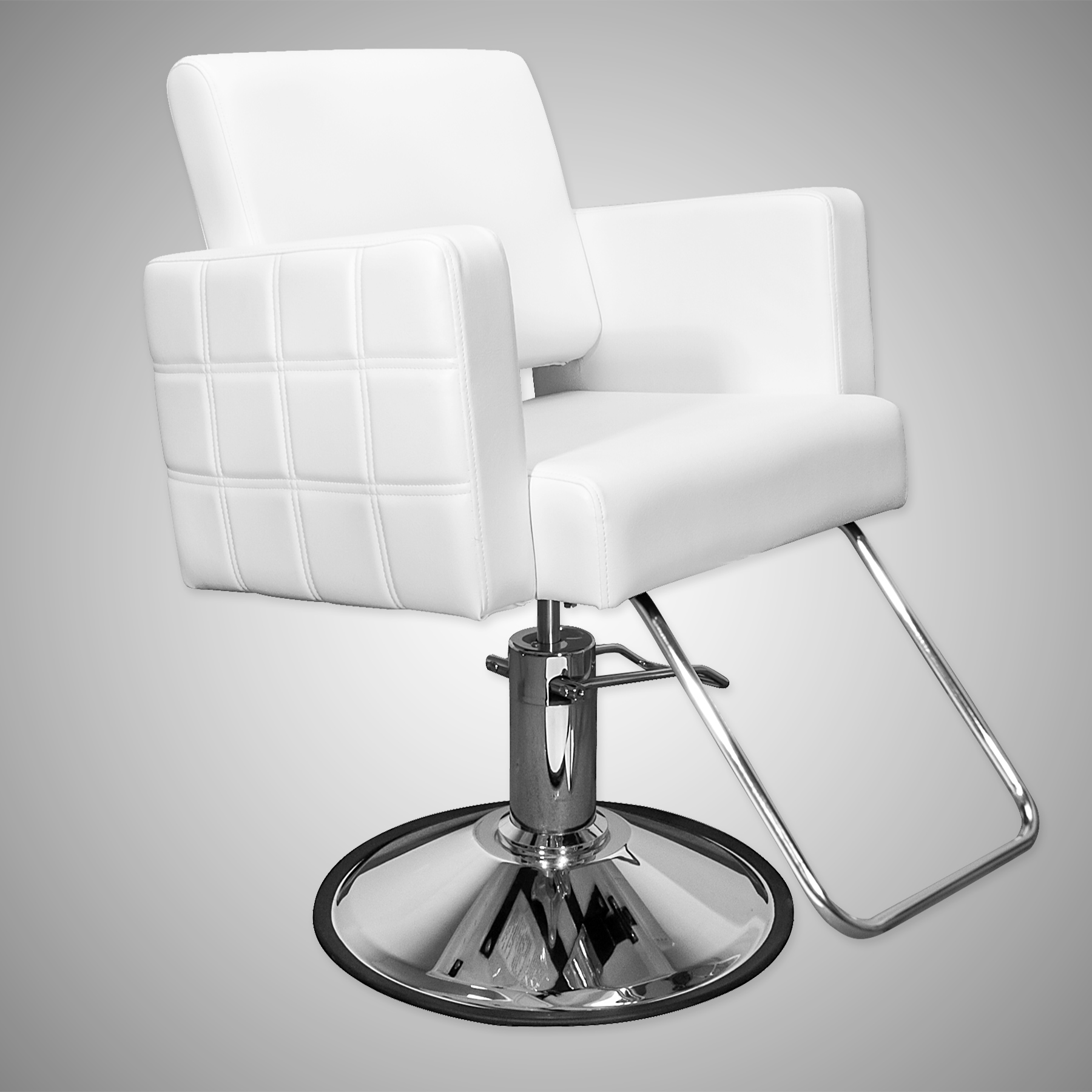 Havana Stylist Chair Quilted White alternative product image 7