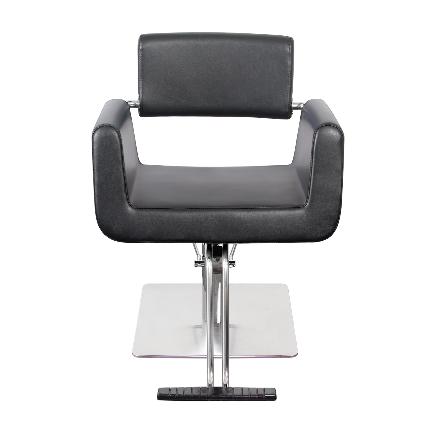 Capelli Modern Hair Chair with Chrome Elbow Brackets alternative product image 5