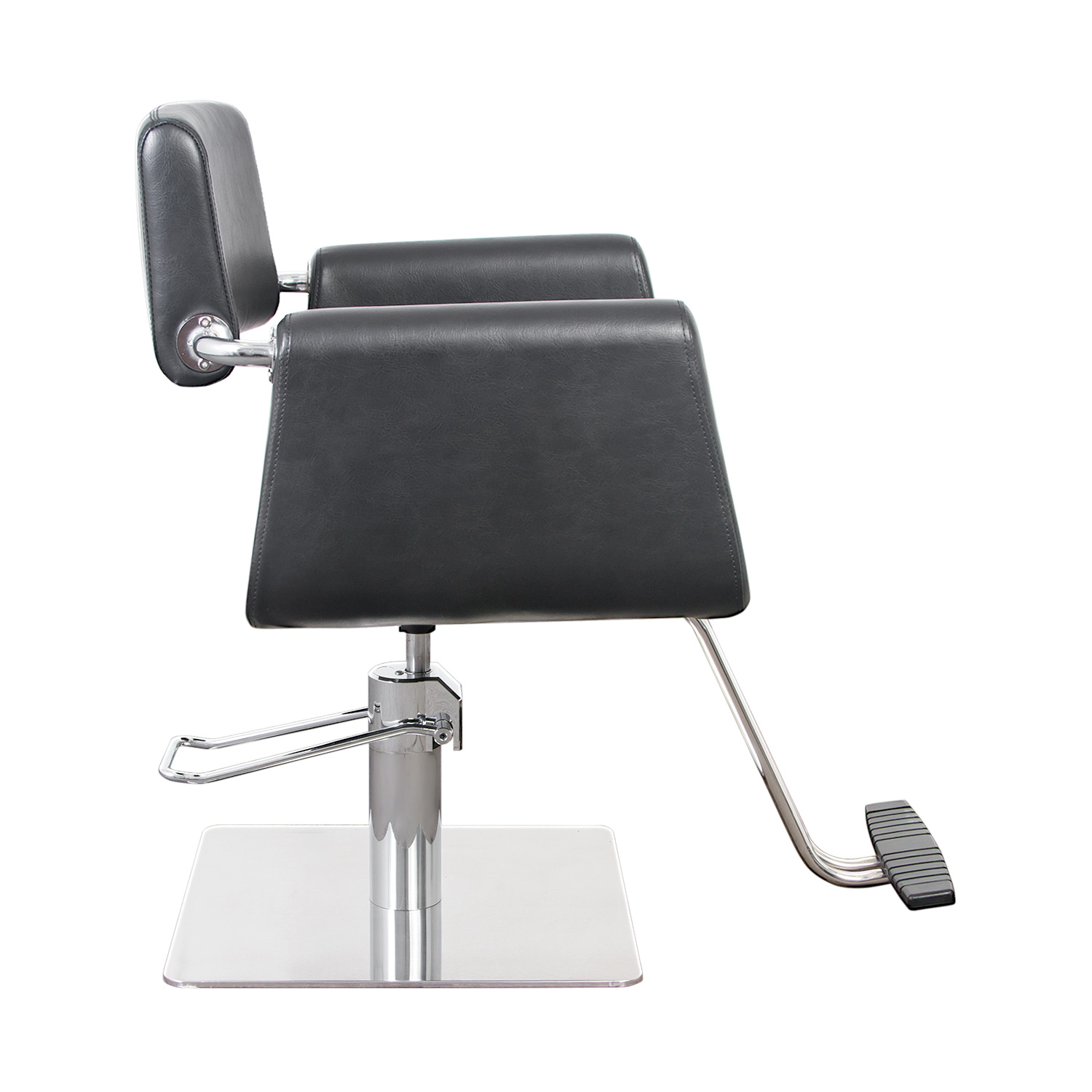 Capelli Modern Hair Chair with Chrome Elbow Brackets alternative product image 3