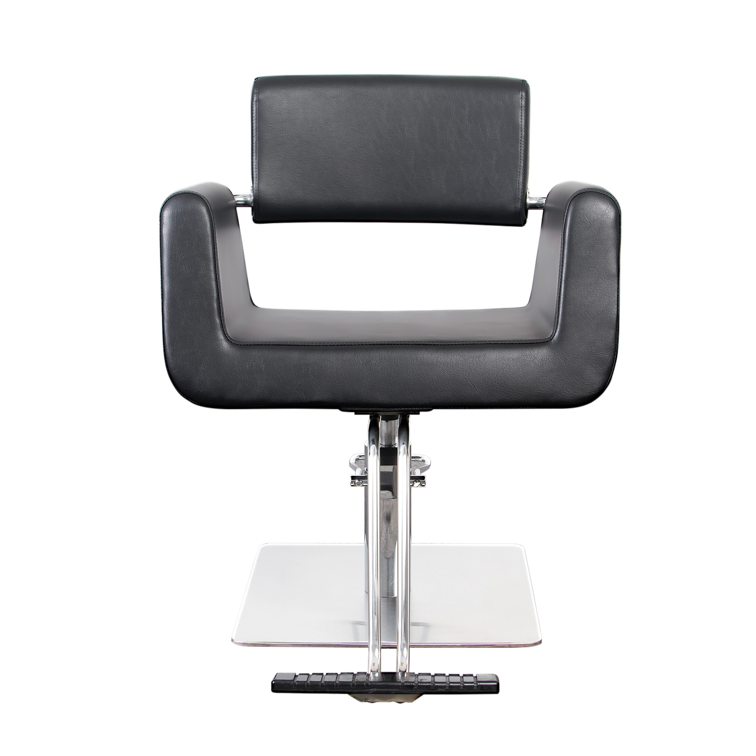 Capelli Modern Hair Chair with Chrome Elbow Brackets alternative product image 1