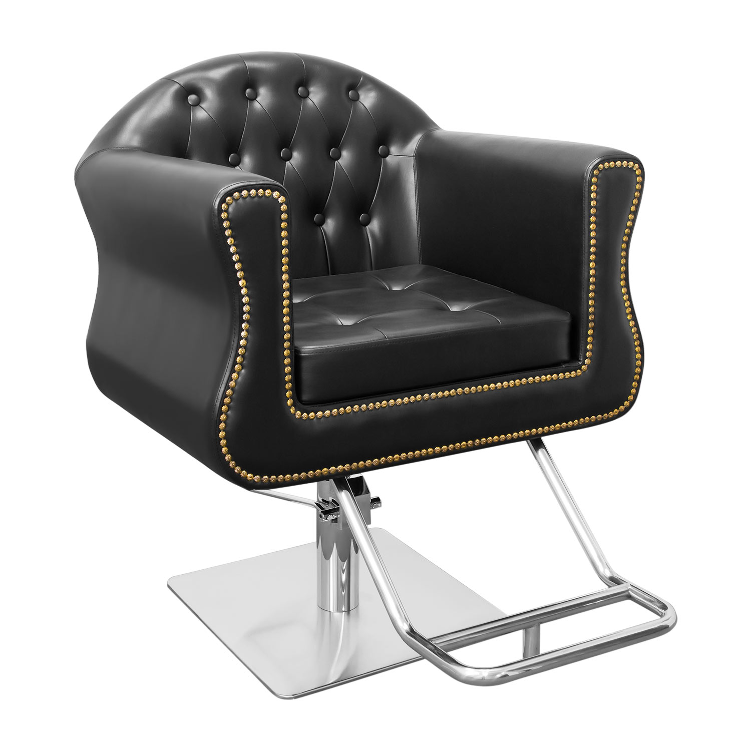 Coronado Hair Salon Styling Chair With Nailhead Trim  main product image