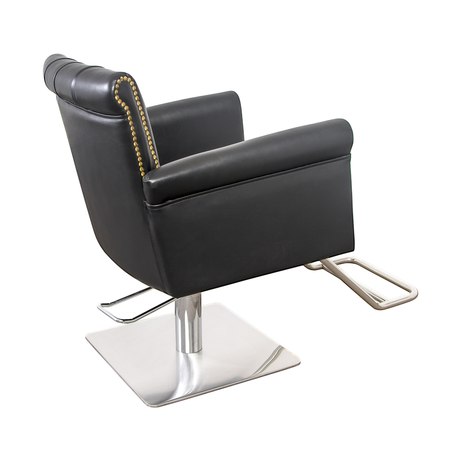 Winston Hair Chair with Nailhead Trim and Tufting alternative product image 3