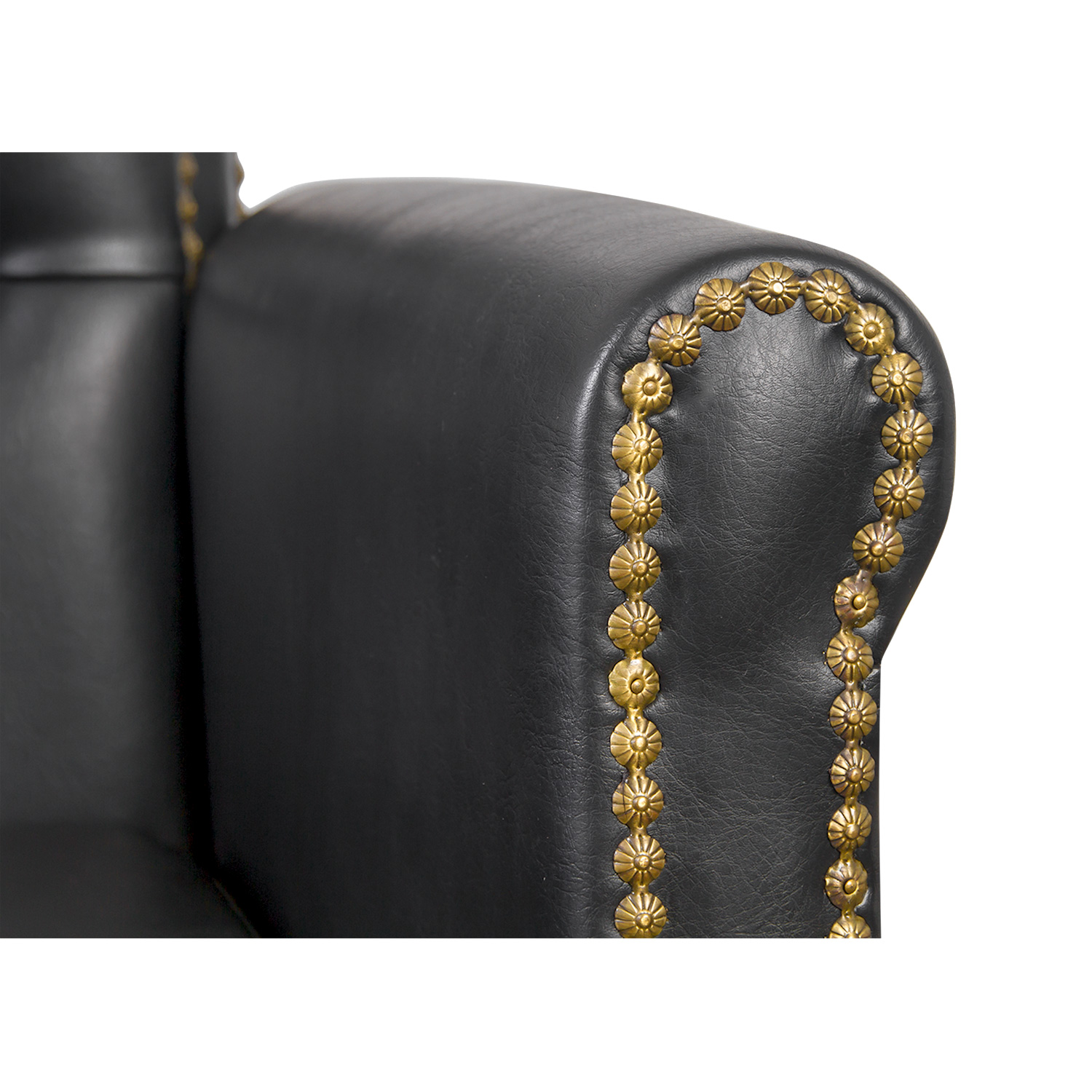 Winston Hair Chair with Nailhead Trim and Tufting alternative product image 6