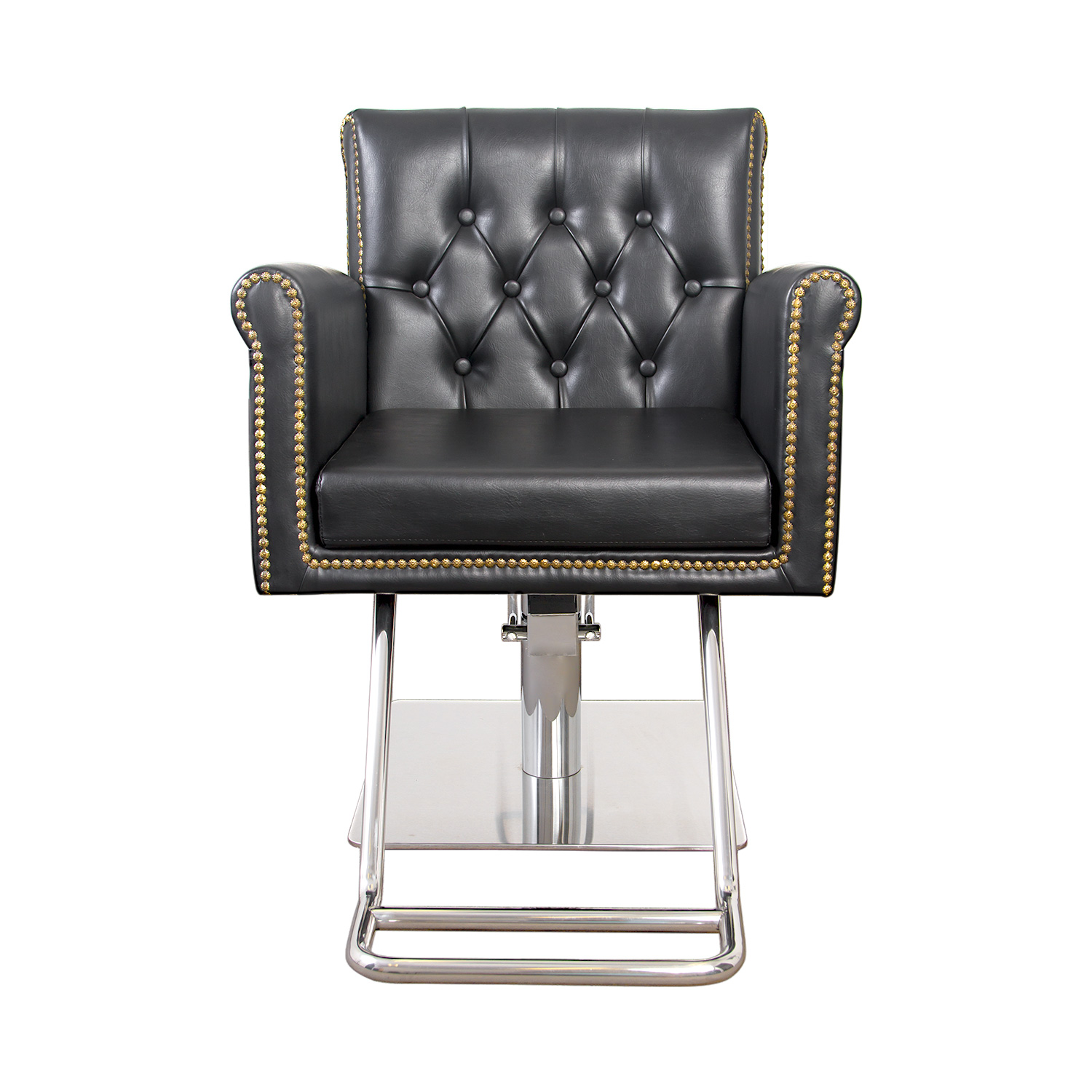 Winston Hair Chair with Nailhead Trim and Tufting alternative product image 1