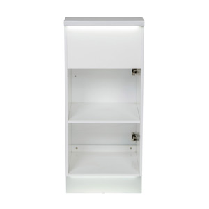 Janus Modular Reception Desk with LED Illumination - Retail Display Cabinet product image