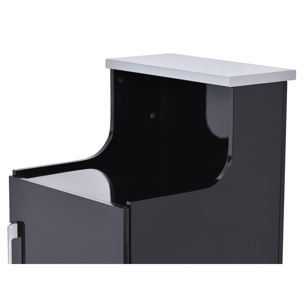 Janus Modular Reception Desk with LED Illumination - Storage Cabinet alternative product image 4