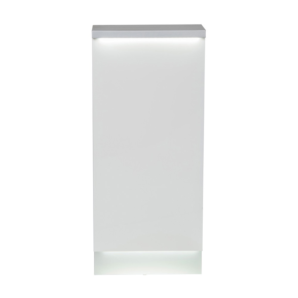 Janus Modular Reception Desk with LED Illumination - Storage Cabinet alternative product image 6