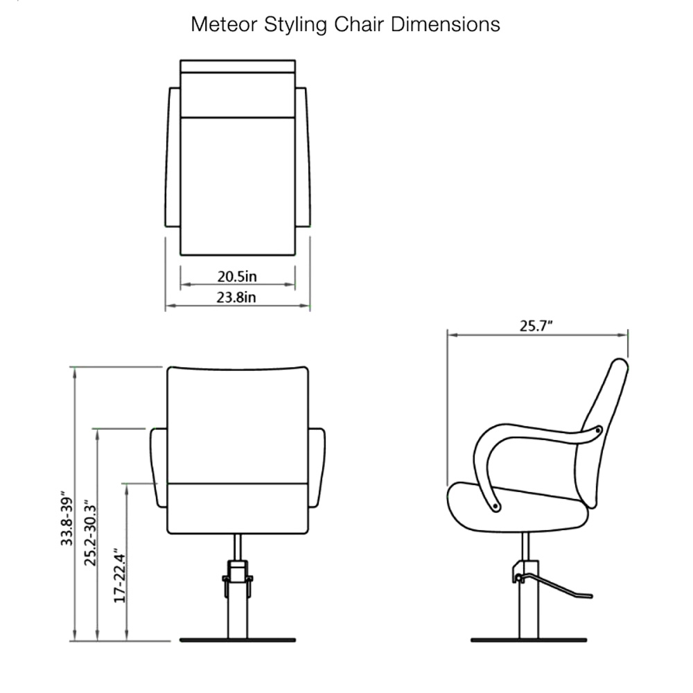Meteor Styling Chair alternative product image 20