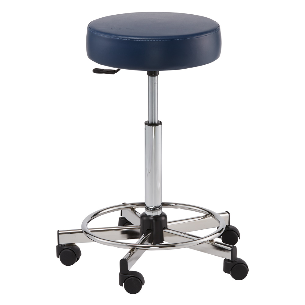 Pibbs 726 Round Seat Styling Stool  main product image