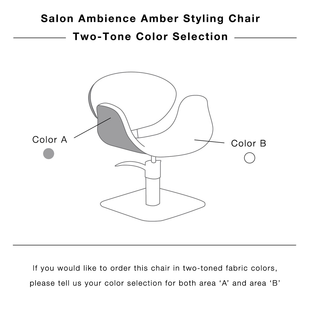 Amber Modern Styling Chair by Salon Ambience alternative product image 14