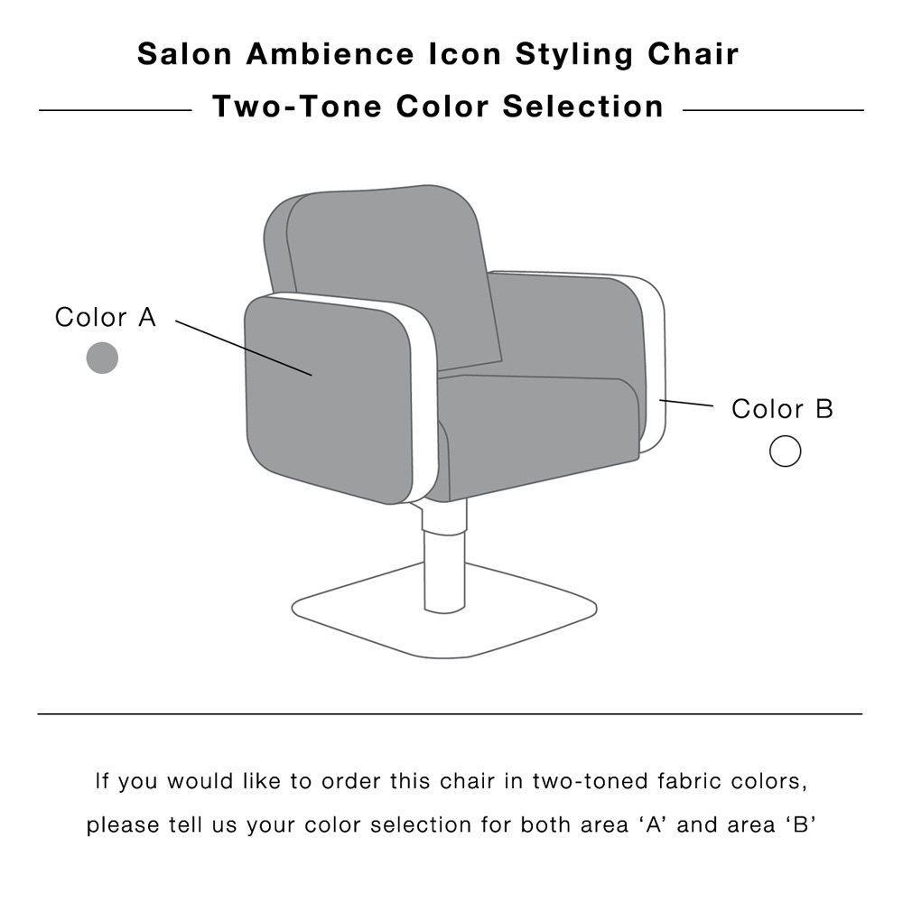 Icon Styling Chair by Salon Ambience alternative product image 7