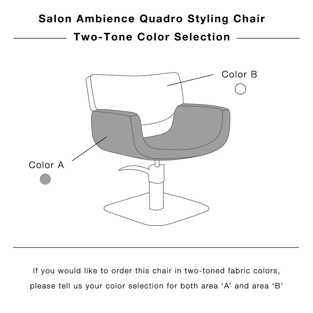 Quadro Hair Salon Chair by Salon Ambience alternative product image 13