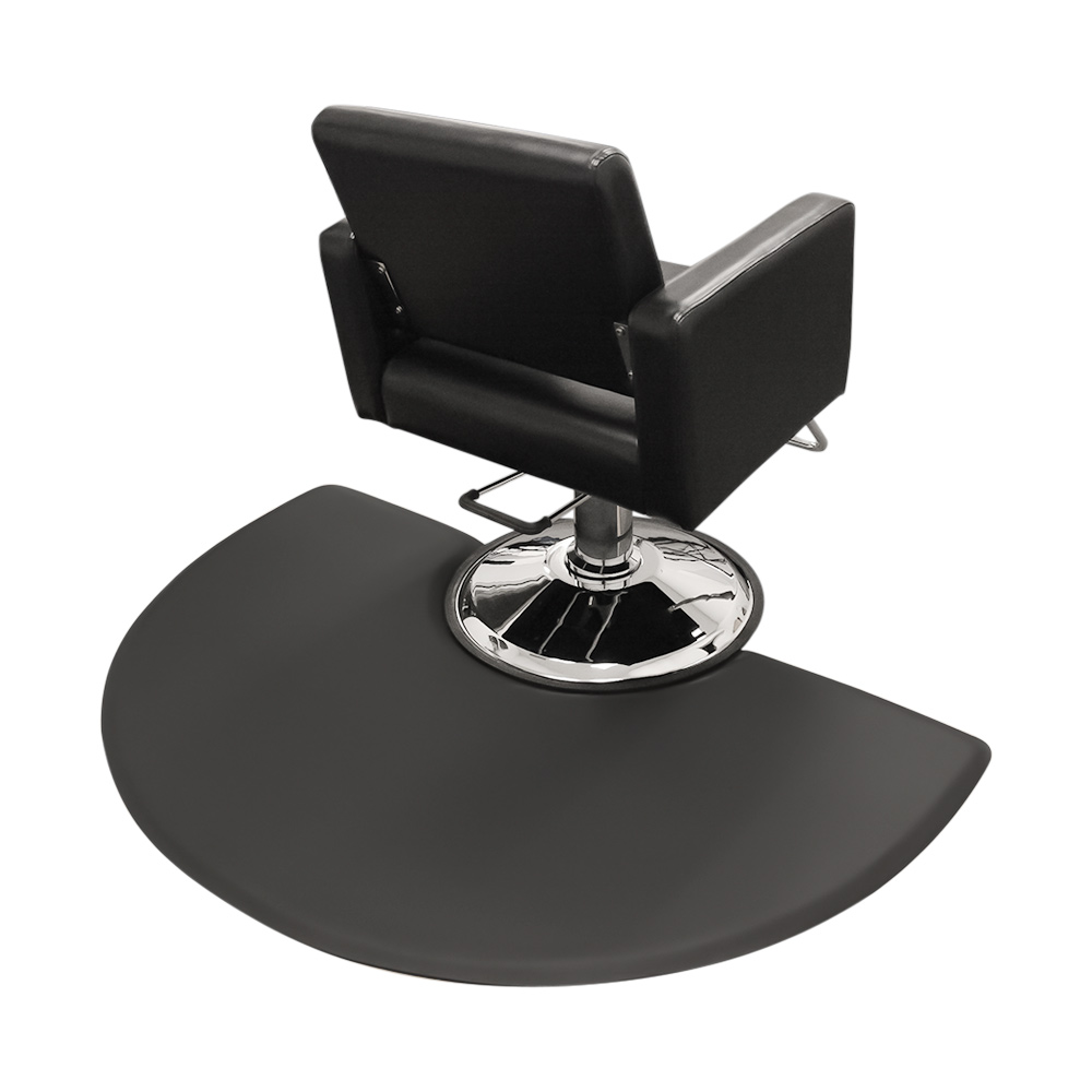 3x5 Semicircle Anti-Fatigue Salon Mat with Round Chair Impression alternative product image 3