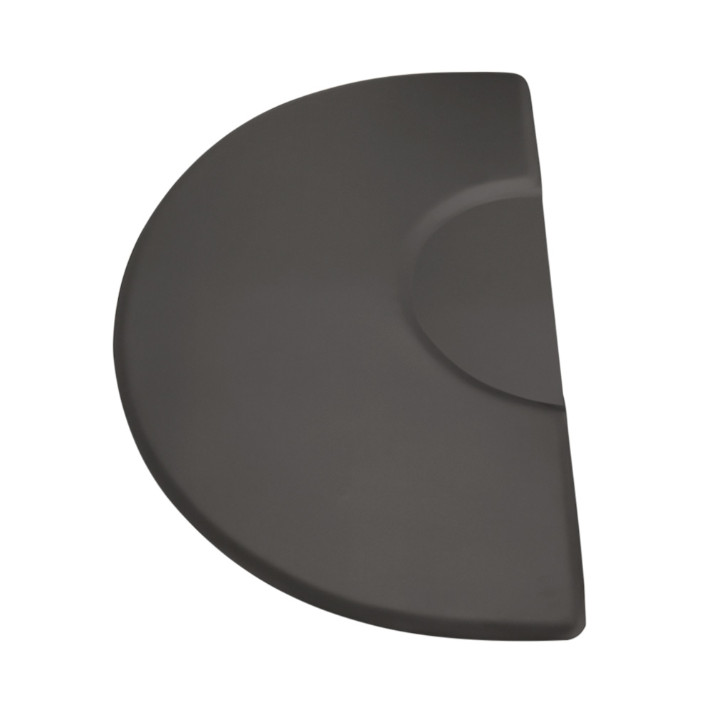 3x5 Semicircle Anti-Fatigue Salon Mat with Round Chair Impression alternative product image 2