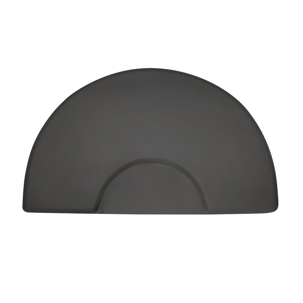 3x5 Semicircle Anti-Fatigue Salon Mat with Round Chair Impression  main product image