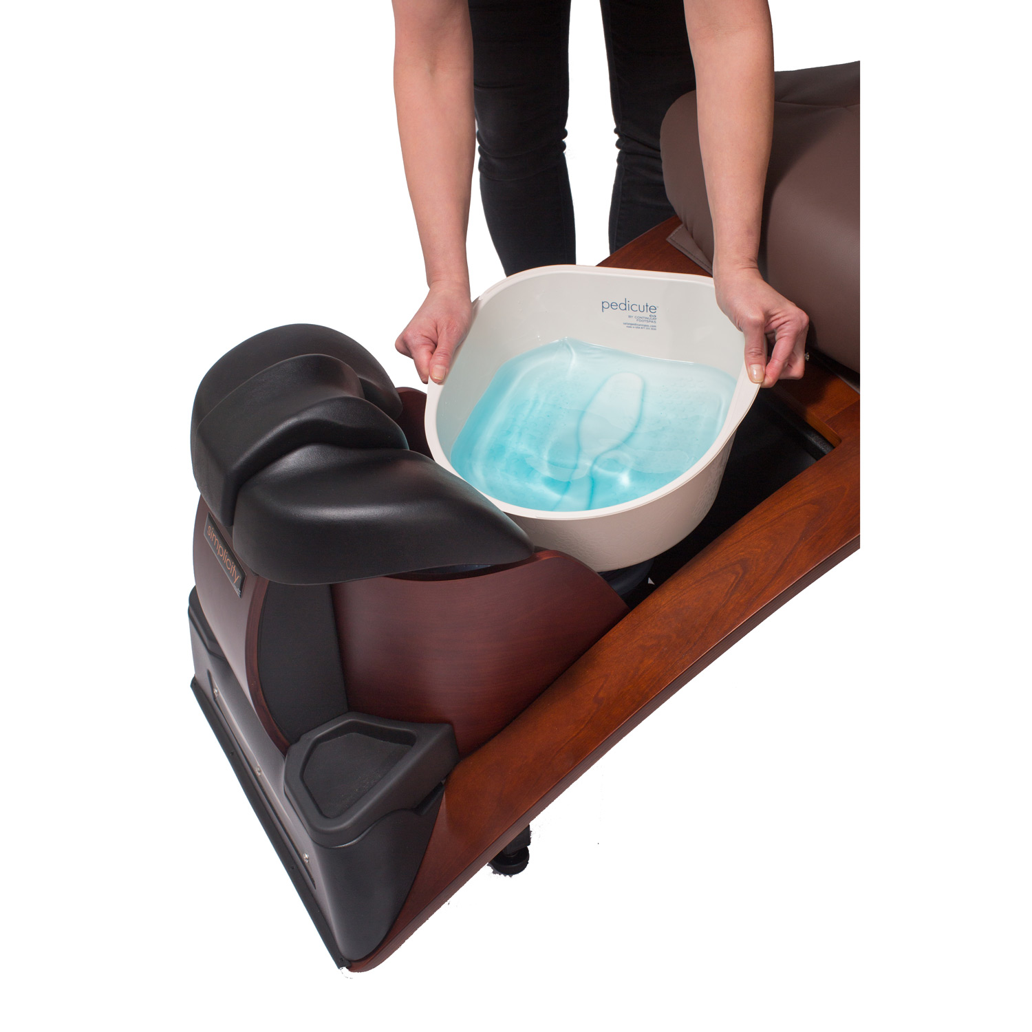 Continuum Simplicity Plus-LE No Plumbing Pedicure Spa Chair alternative product image 1