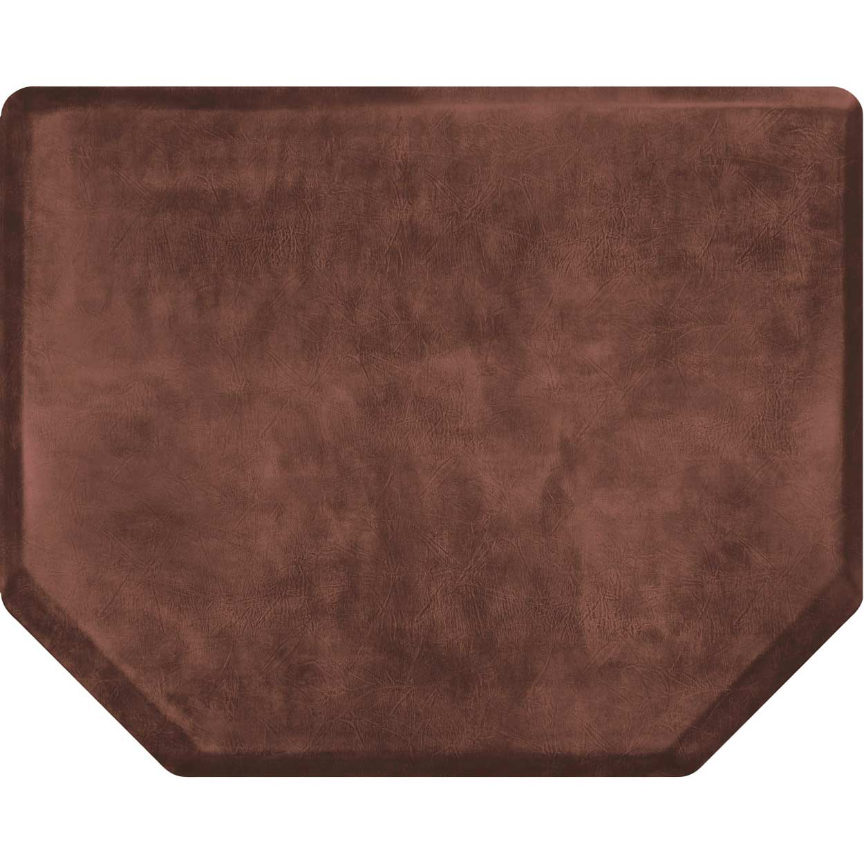 4x5 Vintage Leather Hex Salon Mat Without Chair Impression alternative product image 2