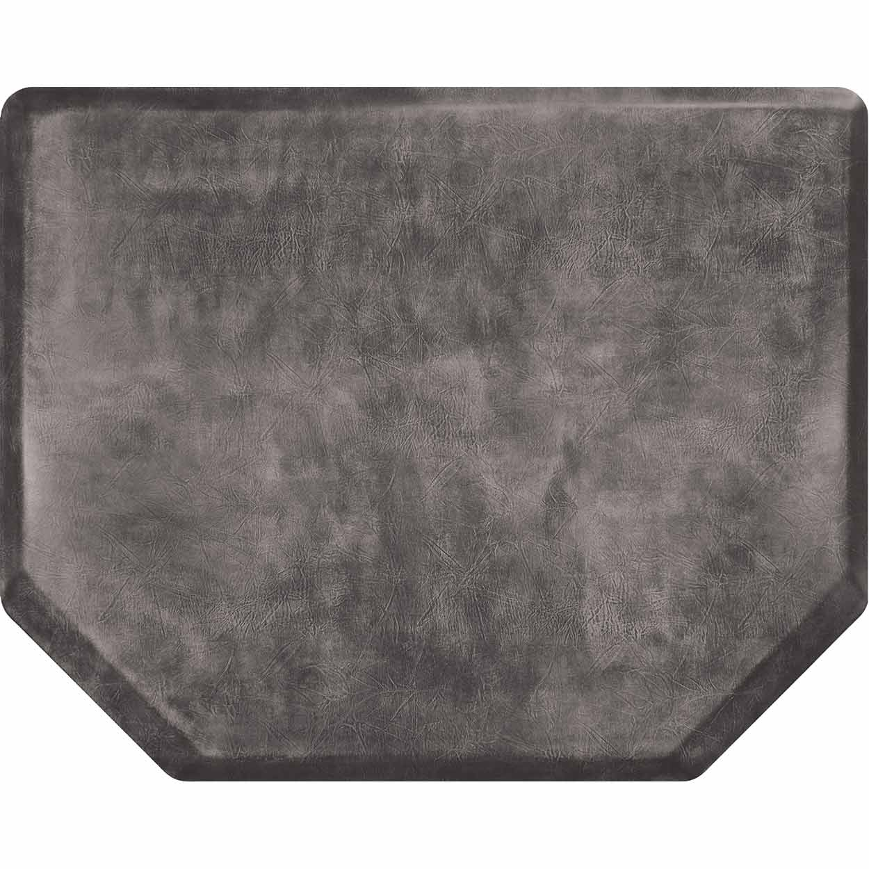 4x5 Vintage Leather Hex Salon Mat Without Chair Impression alternative product image 1