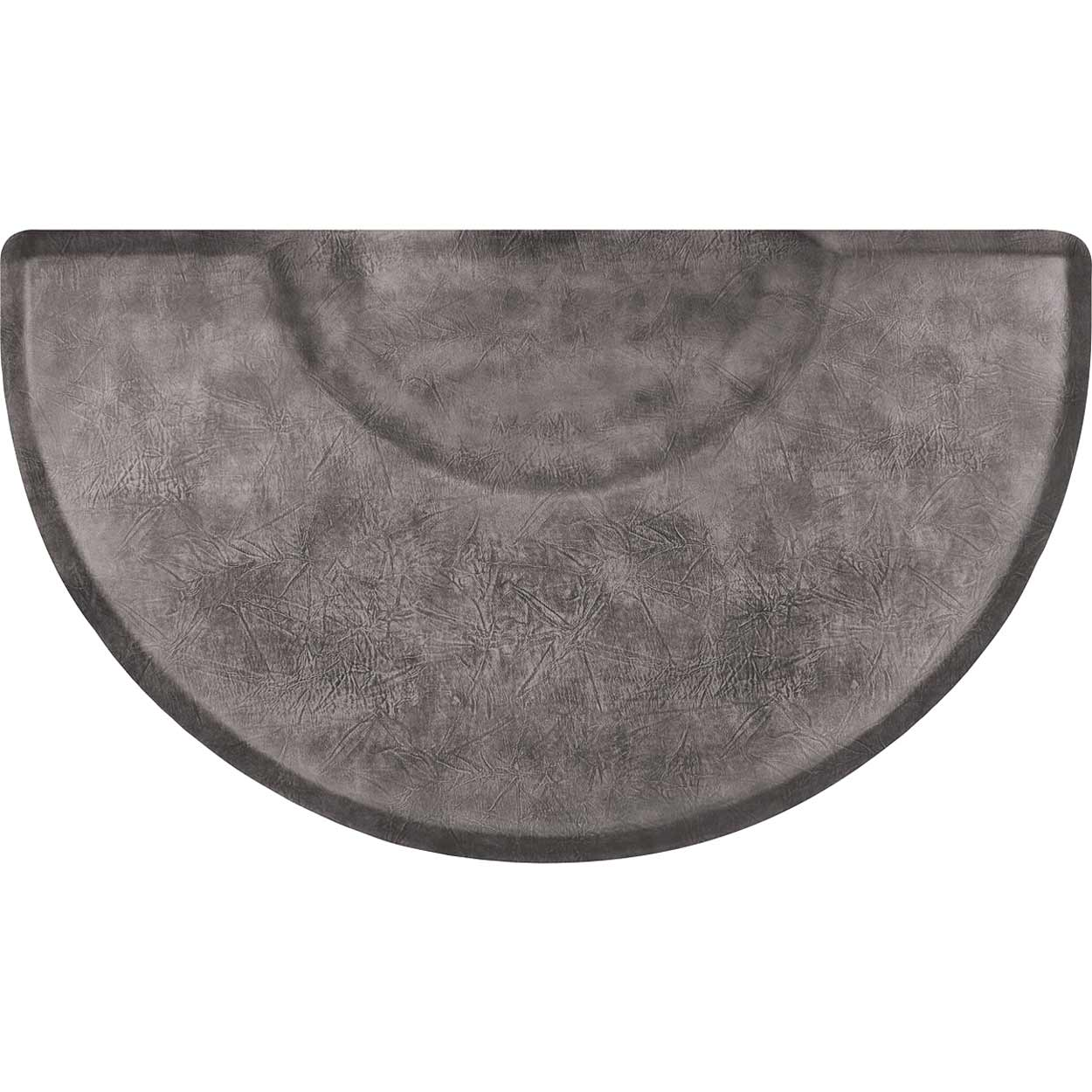 3x5 Vintage Leather Semicircle Anti-Fatigue Salon Mat alternative product image 1