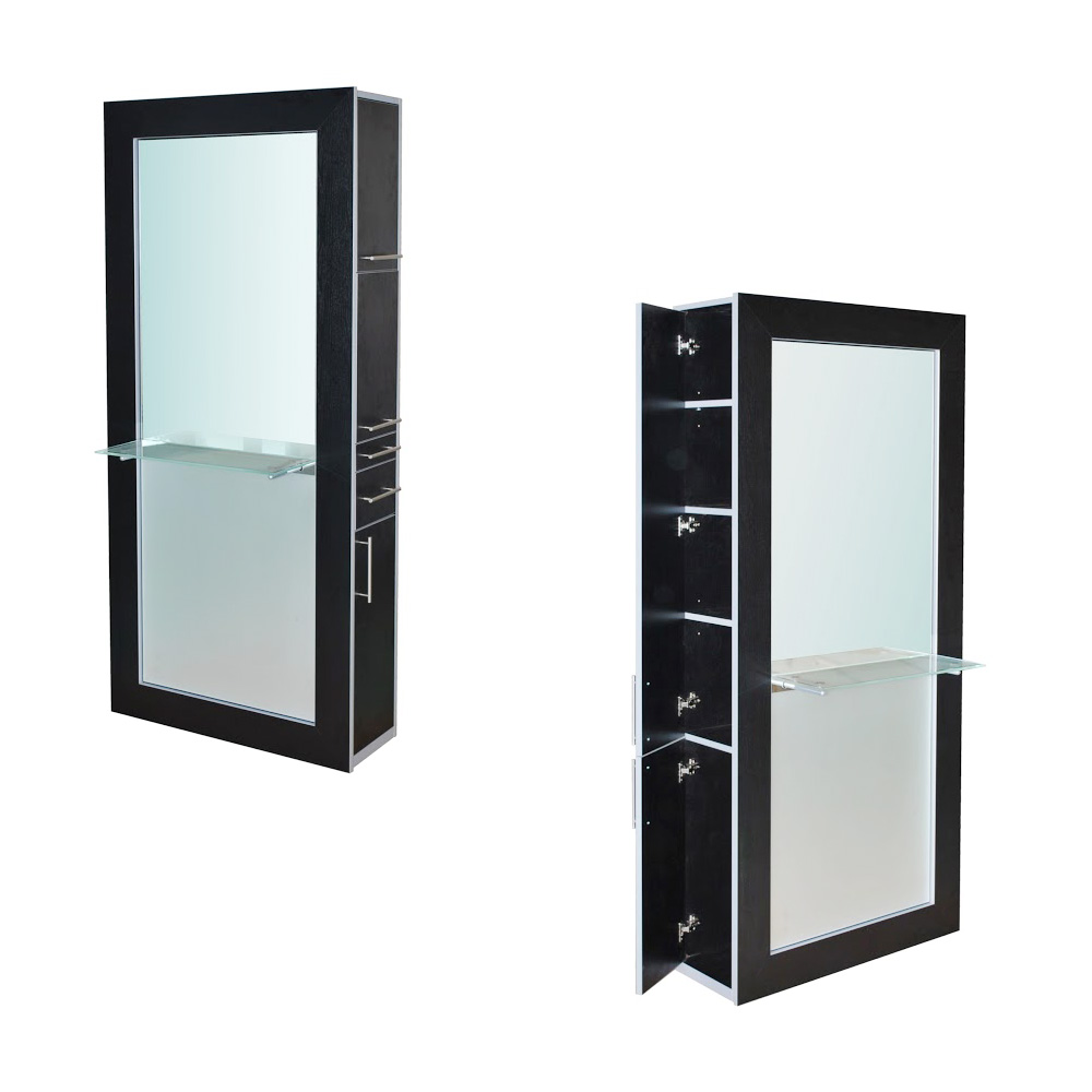 Fusion Mirrored Styling Station Black alternative product image 13