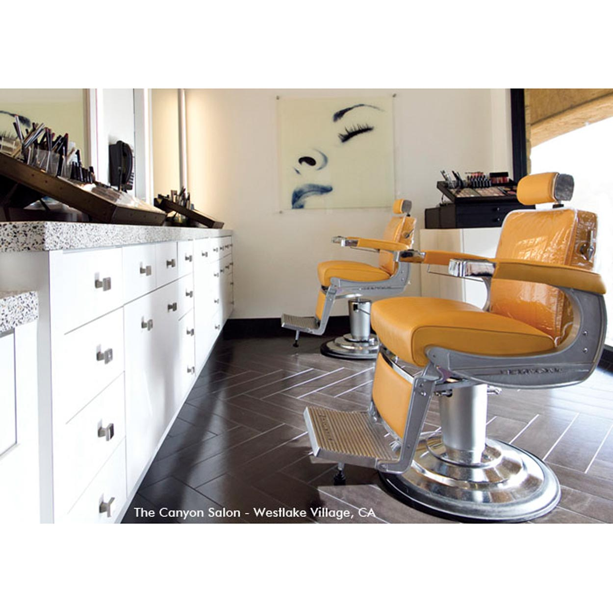 Takara Belmont Elegance Barber Chair with Recliner alternative product image 5