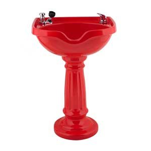 Marble Products Corinthian Pedestal Bowl with Dial-Flo Fixture product image