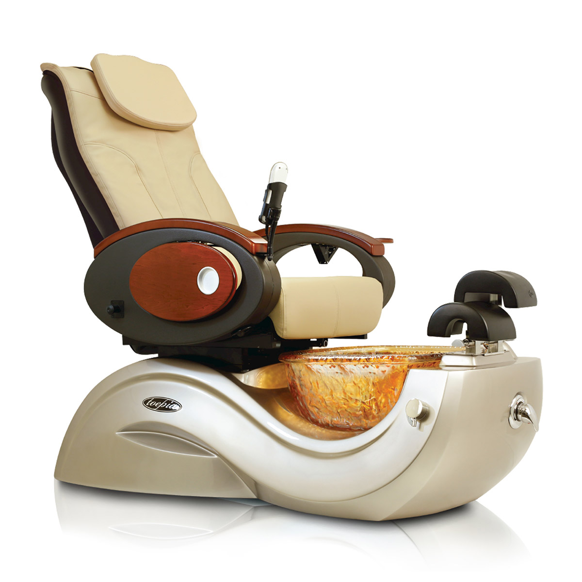 Toepia GX Pipeless Pedicure Spa Chair w/Vented Option  main product image