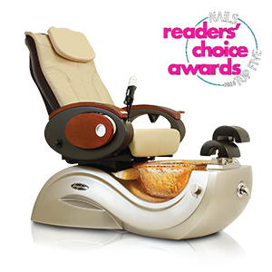 Toepia GX Pipeless Pedicure Spa Chair w/Vented Option product image