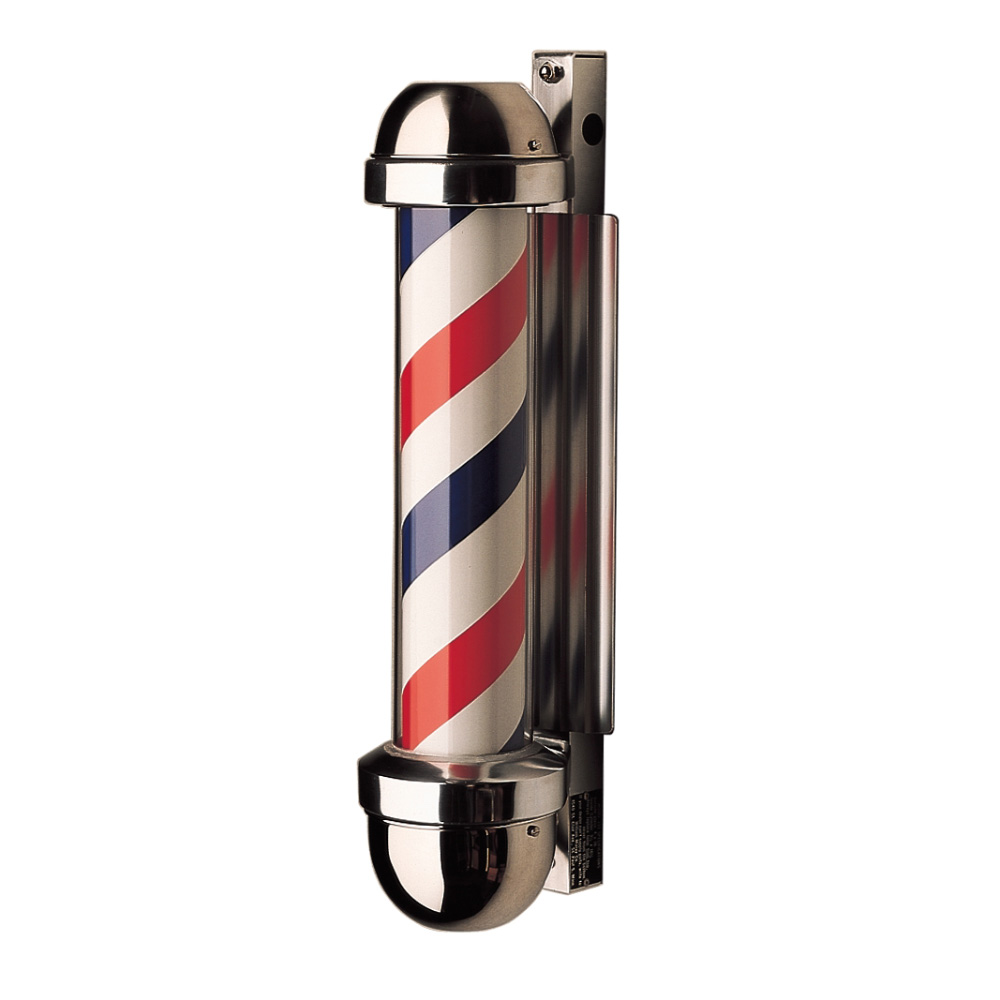 William Marvy Model 333 Non-Revolving Barber Pole image size reference