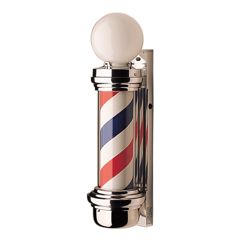 William Marvy Model 55 Barber Pole with Two Lights  main product image