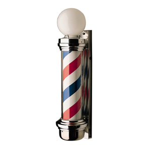 William Marvy Model 77 Barber Pole with Two Lights product image