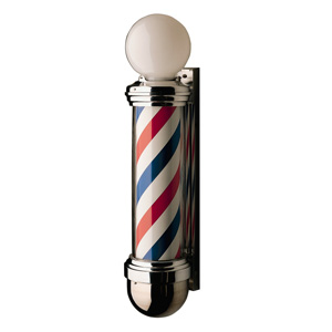William Marvy Model 824 Barber Pole with Two-Lights product image