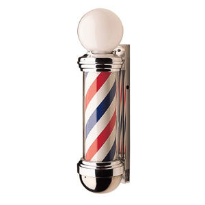 William Marvy Model 88 Barber Pole with Two Lights product image