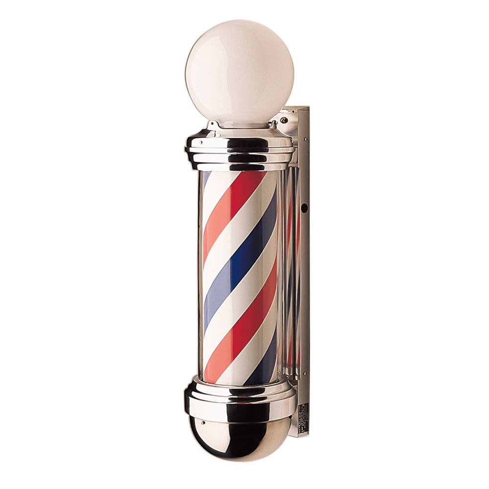 William Marvy Model 88 Barber Pole with Two Lights  main product image